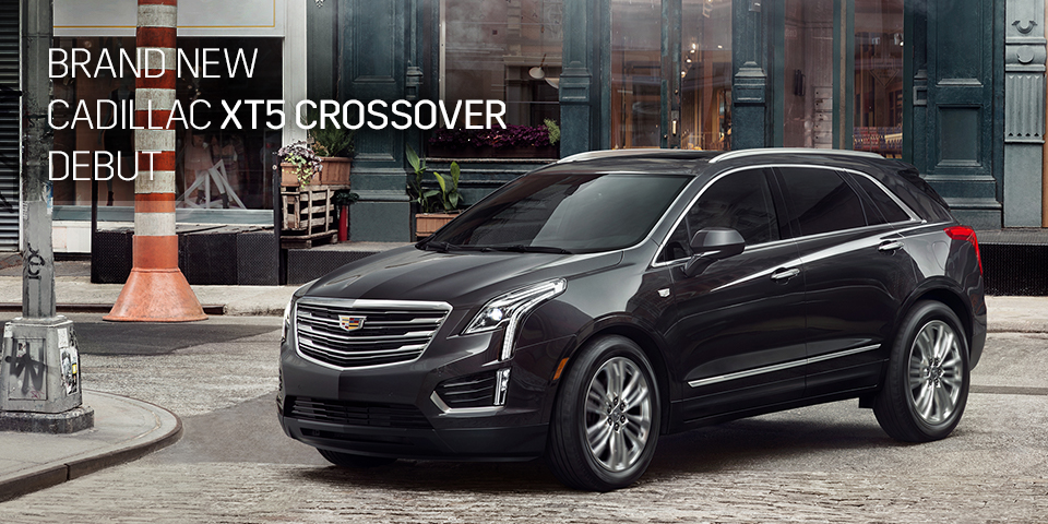 BRAND NEW CADILLAC XT5 CROSSOVER DEBUT